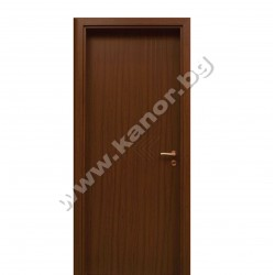 Интериорна врата К094 плътна - тик