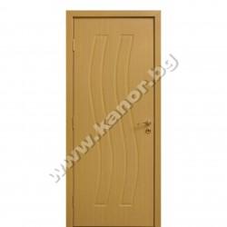 Интериорна врата К096 плътна - натурален дъб