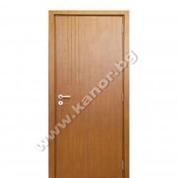 Интериорна врата К094 плътна - орех структура