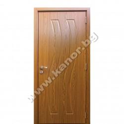 Интериорна врата К096 плътна - златен дъб