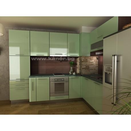мебели | Кухня Пастел Гланц 1