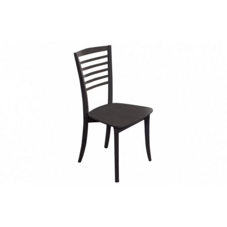 мебели | Трапезарен стол с естествен фурнир, модел Р400в