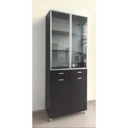 Шкаф витрина / библиотека, модел Р762-80в