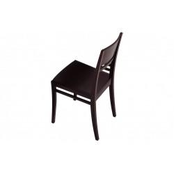 Трапезарен стол с естествен фурнир, модел Р439в