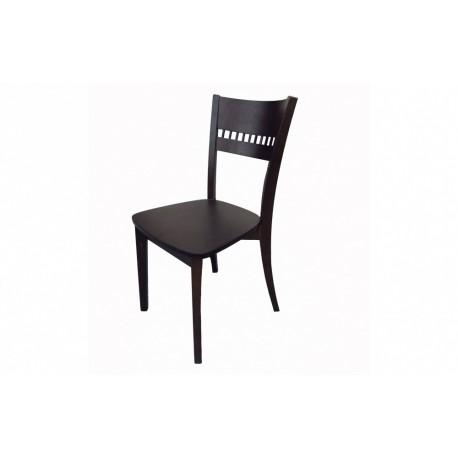 мебели | Трапезарен стол с естествен фурнир, модел Р465Бв