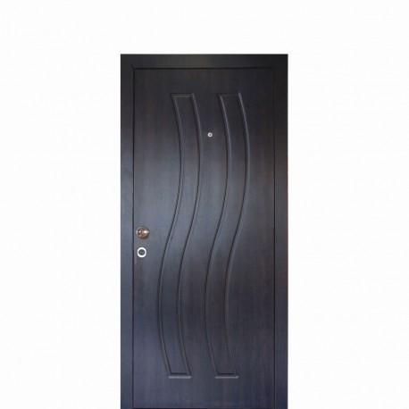 мебели | Външна врата модел ВК096в1 венге