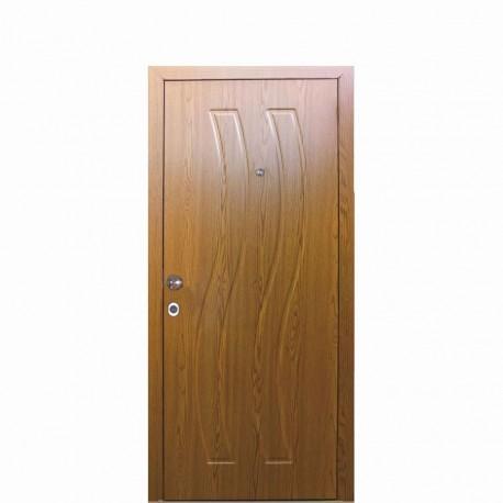 мебели | Външна врата модел ВК096 златен дъб