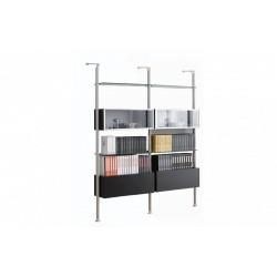 Шкаф за стена, библиотека, модел Д767-2в