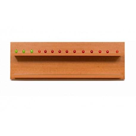 мебели | Етажерка за стена, модел Р0369-60тч