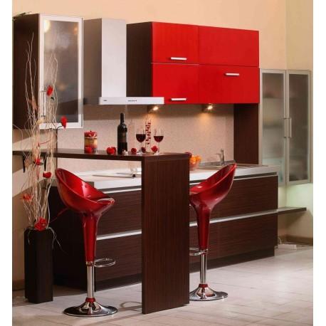 мебели | Кухня Ламина червен