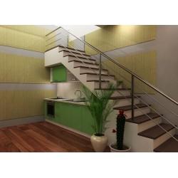 мебели | Кухня Пастел зелен