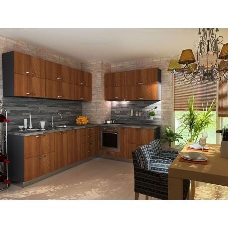 мебели | Кухня Ламина орех