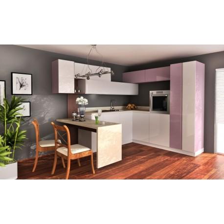 мебели | Кухня Пастел виолет гланц