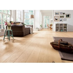 мебели | Паркет Дъб светъл бял, Савидж, две фаски