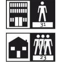 мебели | Клас на ползване 31 - слабо натоварени обществени помещения