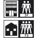 мебели | Клас на ползване 32 - средно натоварени обществени помещения
