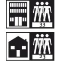 мебели | Клас на ползване 33 - силно натоварени обществени помещения